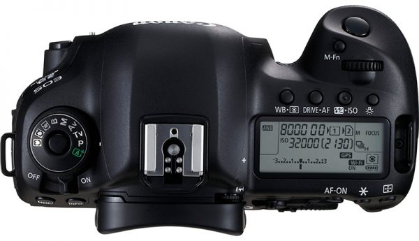 Canon EOS 5D Mark IV Top