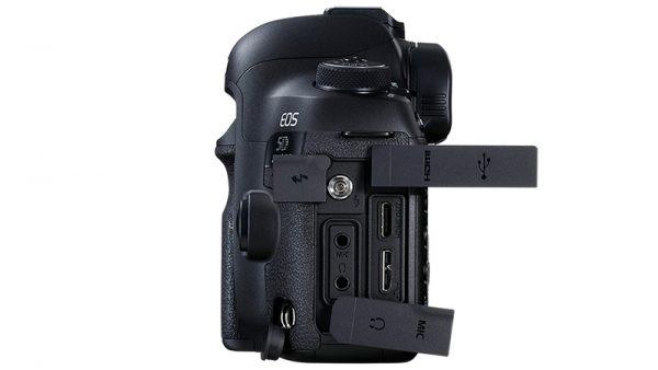 Canon EOS 5D Mark IV Side