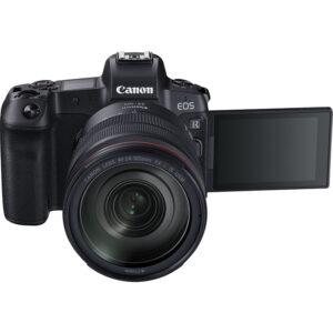 Canon EOS R Front Open