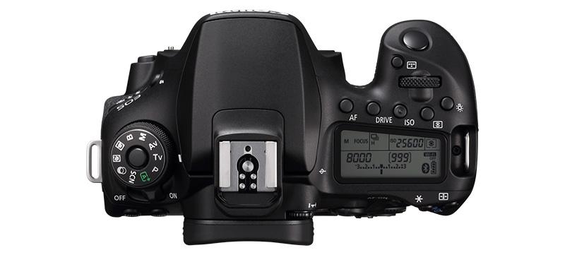Canon EOS 90D_Top