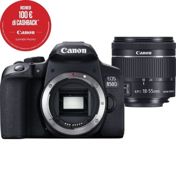 Canon EOS 850D + EF-S 18-55 4-5.6 IS STM Summer Cash Back 2021