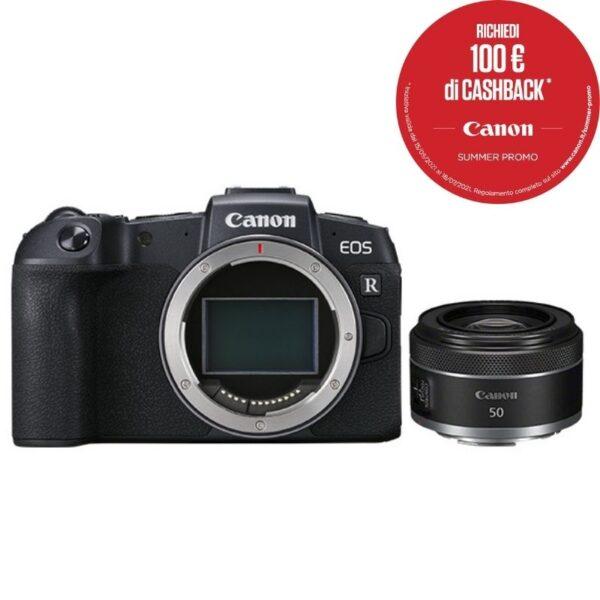 Canon EOS RP + obiettivo RF 50mm f:1.8 STM Summercashback 2021