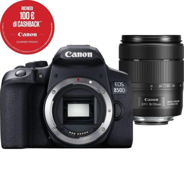 CANON EOS 850D+18-135mm Summercashback 2021