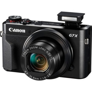 Canon PowerShot G7 X Mark II_lato_flash