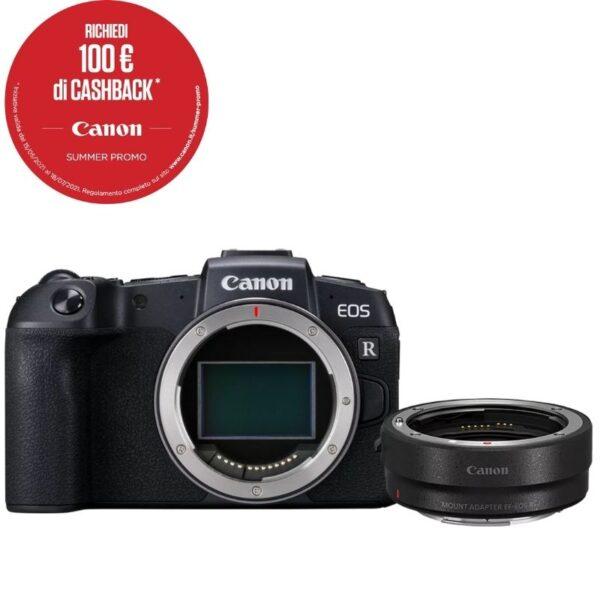 Canon EOS RP + adattatore EF-EOS R summer cashback 2021