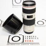 Canon EF 70-200 F4L IS USM + Paraluce