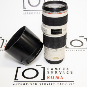 Canon EF 70-200 F4L IS USM + Paraluce