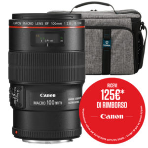 Canon EF 100mm F2.8L Macro USM Promo Winter