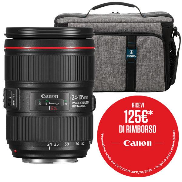 Canon EF 24-105mm F4L IS II USM Promo
