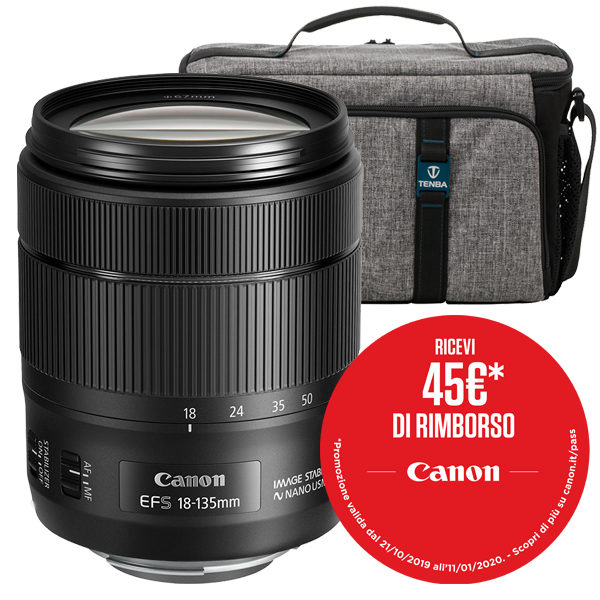 Canon EF-S 18-135mm IS NanoUSM Promo Winter