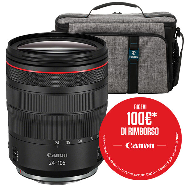 Canon RF 24-105 F4L IS USM Promo