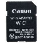 Adattatore Wi-Fi Canon W-E1