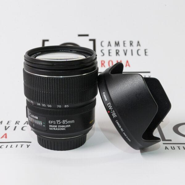 Canon EF-S 15-85 IS USM + Paraluce EW-78E