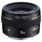 EF 50mm f1.4 USM Slant without cap