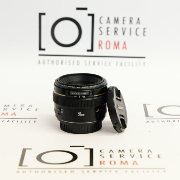 Canon EF 50mm f/1.4 front usato