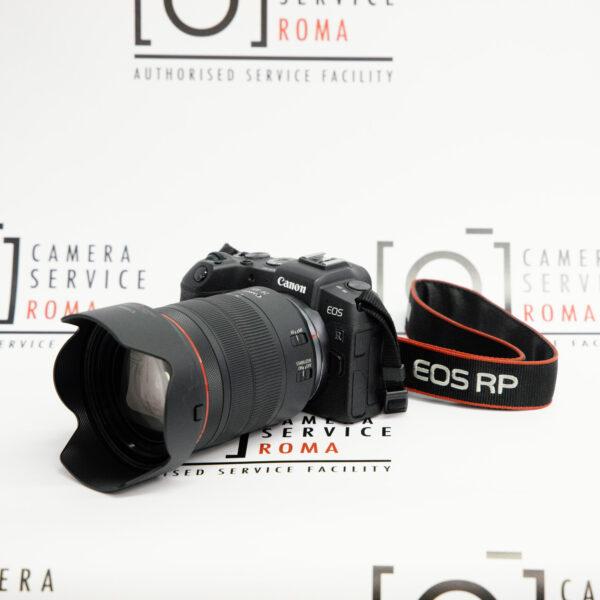 CANO EOS RP + RF 14-105mm lato+cinghia