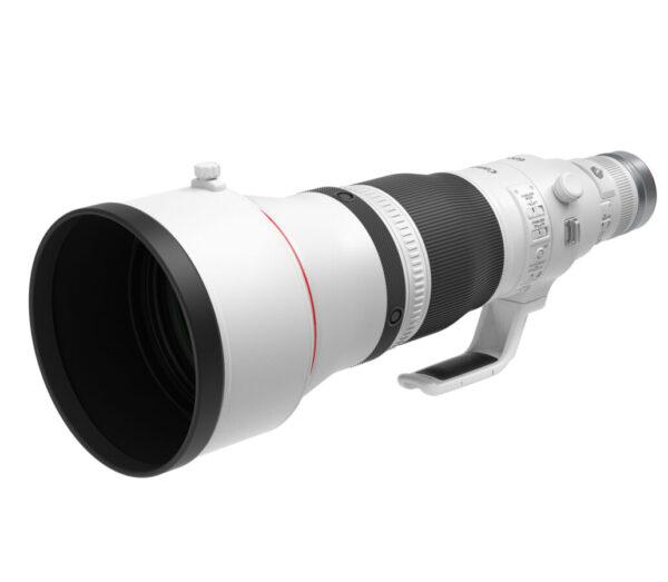 RF 600mm F4 L IS USM_Front Slant_with short hood