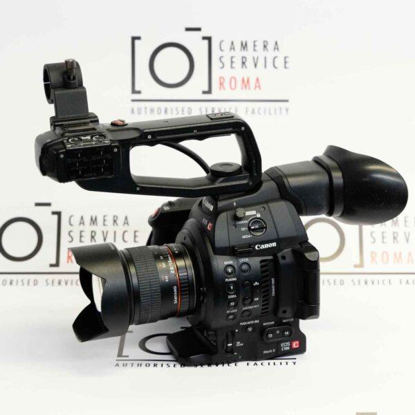 Canon EOS C100 Mark II + Samyang 10mm f/2.8.