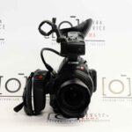 Canon EOS C100 Mark II + Samyang 10mm f/2.8.  fronte