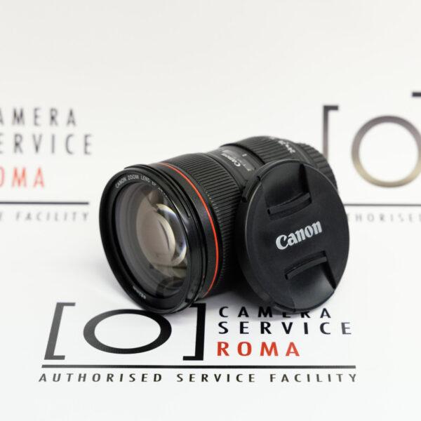 Canon EF 24-70mm f/2.8L II USM  front usato